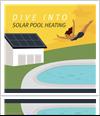 Solar pool heating infographic