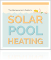 Solar pool heating infographic